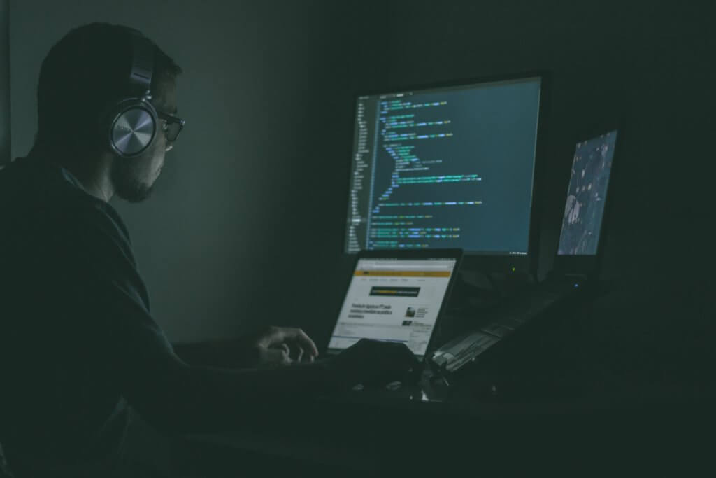 Hacking a computer